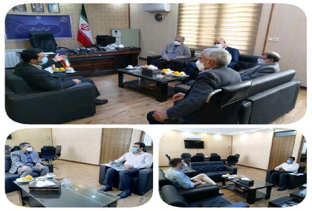 نشست استاندار خراسان جنوبی با چند گروه از سرمایه گذاران بخش خصوصی در تهران