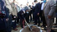 آغاز عملیات اجرایی شرکت میلینیوم در شهرک صنعتی کاسپین با حضور وزیر صمت