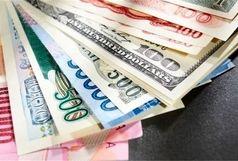 نرخ 24 ارز بانکی افزایش یافت/ دلار گران شد