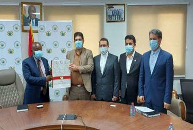 توزیع داروهای ایرانی در داروخانههای غنا