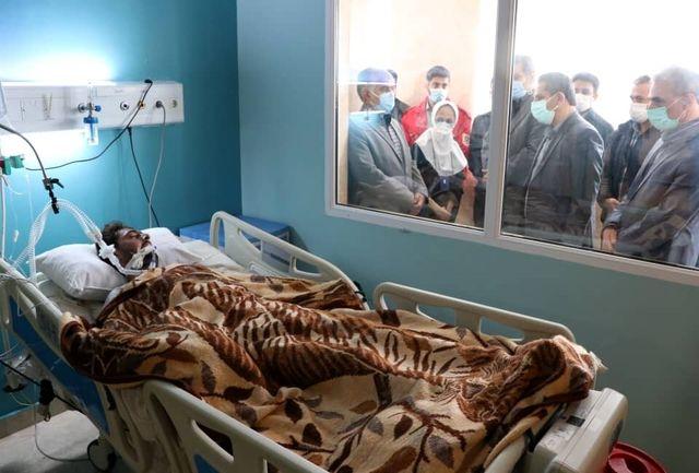 عیادت شهردار تبریز از دو آتش نشان مصدوم حادثه کوی فردوس