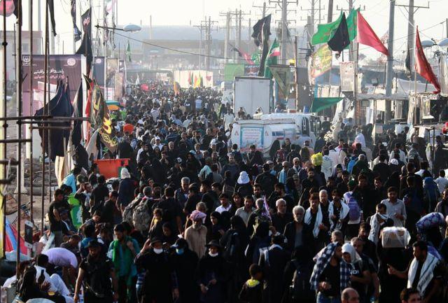شرکت 44 هزار شهروند قزوینی در مراسم اربعین 98