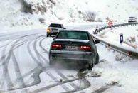 جاده های استان یزد لغزنده اند/ رانندگان حتما با احتیاط کامل رانندگی کنند