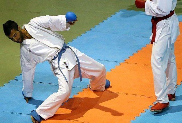 رقابت 334 کاراتهکا در المپیاد استعدادهای برتر ورزش کاراته پسران