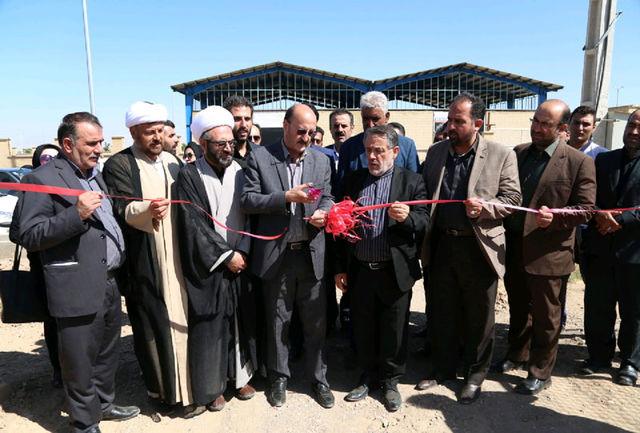 پروژه منبع آب هوایی اسفرورین افتتاح شد