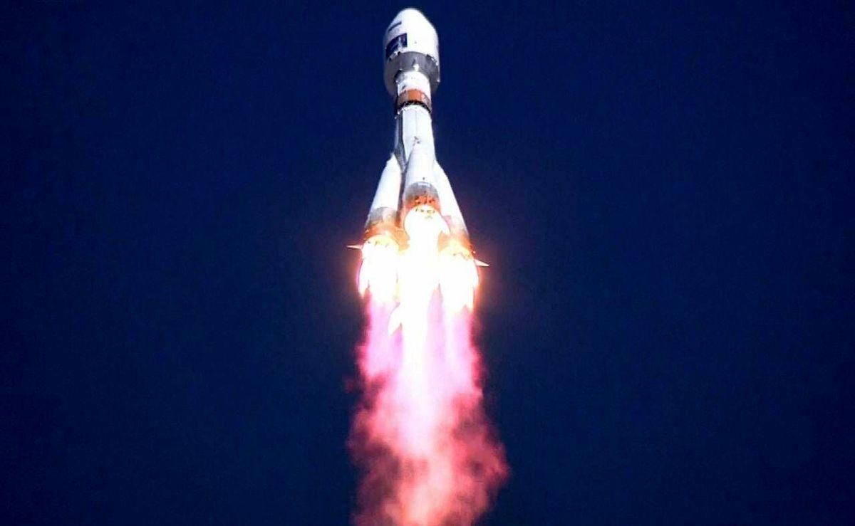 روسیه ۳۶ ماهواره انگلیسی به فضا پرتاب کرد