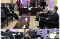 دیدار رئیس دادگستری و دادستان چرداول با فرماندار شهرستان