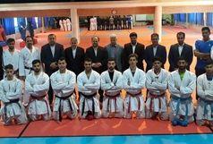 بازدید وزیر تعاون، کار و رفاه اجتماعی از اردوی تیم ملی کاراته آقایان و بانوان