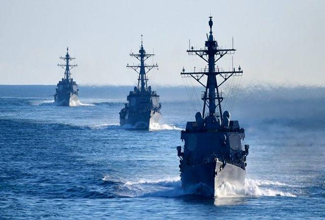 آغاز به کار رسمی ائتلاف دریایی آمریکا در خلیج فارس