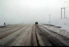 برف و مهگرفتگی در محورهای 8 استان