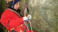 دوره غارنوردی بانوان خوزستان برگزار شد