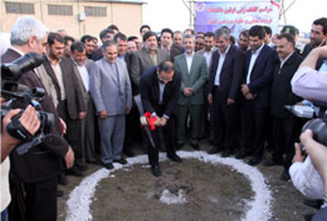 کلنگ نخستین دانشگاه تربیتبدنی کشور در مشهد به زمین زده شد