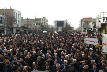 راهپیمایی ۲۲ بهمن در اردبیل