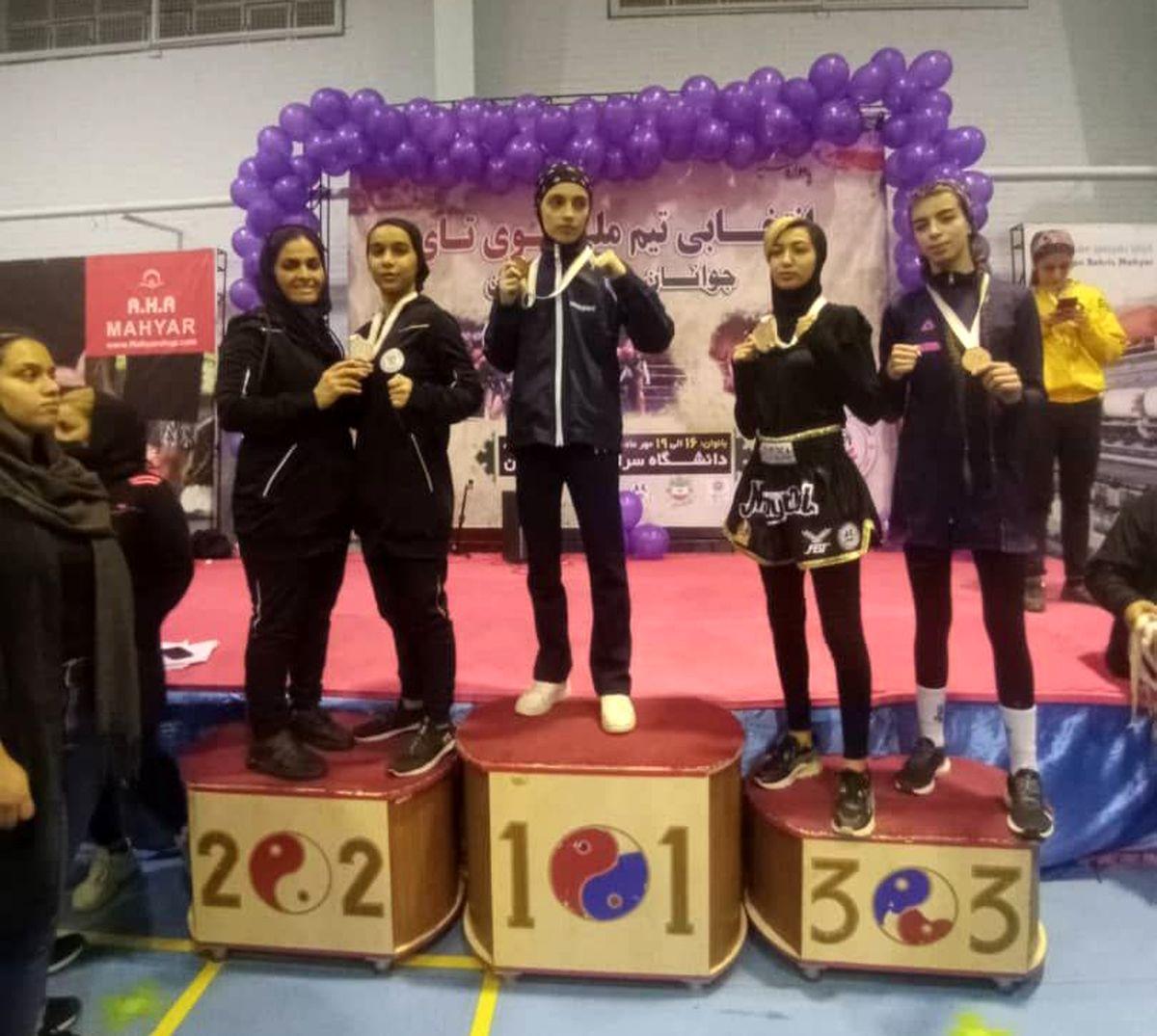کسب مدال نقره و راهیابی به تیم ملی موی تای جوانان توسط دختر گلستانی