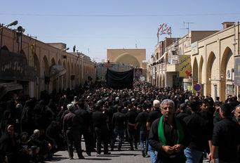 مراسم سوم امام حسین (علیه السلام ) در مسجد ملااسماعیل -یزد