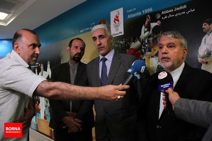 صالحی امیری: ظرفیت همکاری ورزش ایران و عراق بسیار بیشتر از شرایط فعلی است/ به دنبال توسعه همکاری هستم/ ببینید