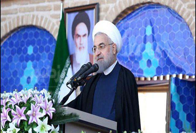 افزون بر ۵۰۰ طرح با حضور رییس جمهوری در استان یزد افتتاح شد
