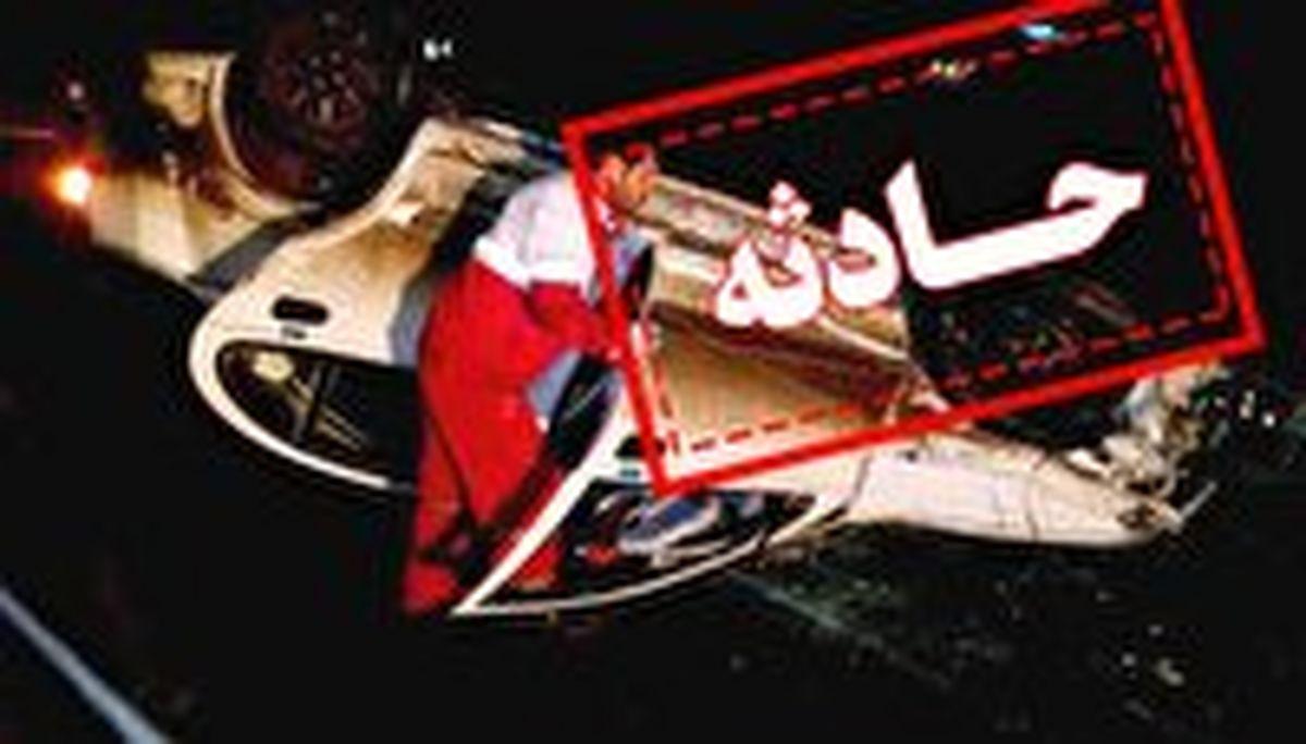 دو کشته و یک زخمی در واژگونی یک دستگاه هیوندا