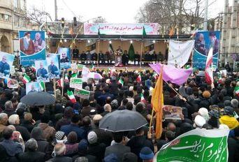 راهپیمایی۲۲ بهمن - گرگان