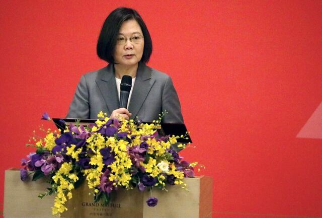 """اظهارات رئیس جمهور تایوان در سالگرد """"تیان آن من"""""""