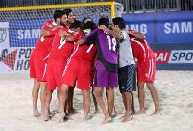 ملیپوشان ساحلی به جمع چهار تیم برتر آسیا رسیدند