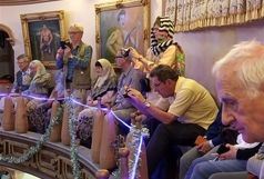 بازدید گروه 15 نفره گردشگر آلمانی از مراکز گردشگری و تاریخی شهرستان بیرجند