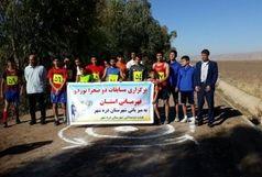 مسابقات دو صحرا نوردی انتخابی قهرمانی استان با شرکت 5 تیم برگزار شد
