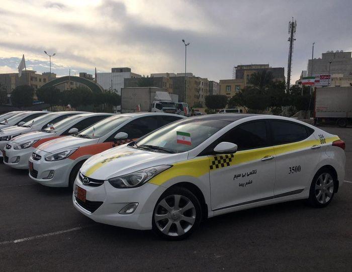 نرخ کرایه تاکسیهای قشم ثابت ماند