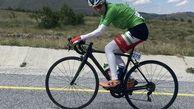 """درخشش بانوی البرزی در مسابقات دوچرخه سواری """"گرندپریکس"""" ترکیه"""