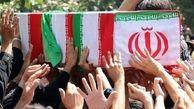 "تشییع پیکر مطهر شهید "" امین رحمانی"" در سلماس"