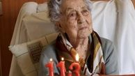 شکست کرونا توسط زن ۱۱۳ ساله+عکس