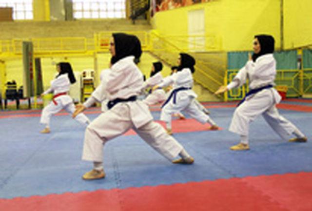 حضور دختران کاتارو سنگآهن بافق در اولین مرحله مسابقات لیگ مجازی کاتا کشور