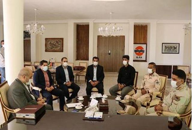 نیروهای دریابانی حافظان منافع ملی در آب های جزیره قشم