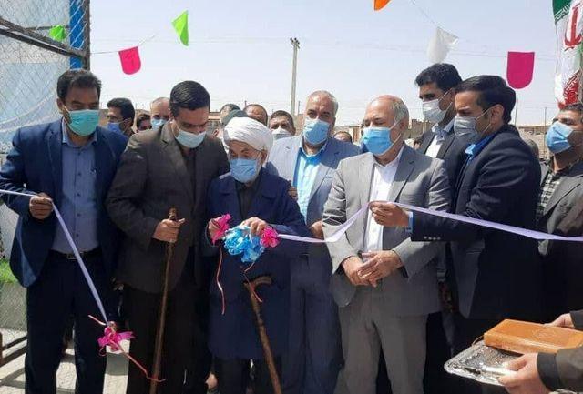 6 زمین چمن مصنوعی در روستاهای قاینات و زیرکوه افتتاح شد