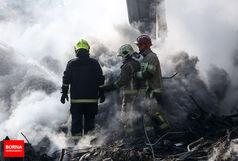 آتش سوزی وحشتناک یک پاساژ در اکباتان +جزئیات