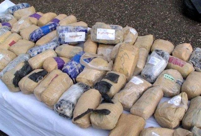 کشف یک تن و 400 کیلو مواد افیونی در اصفهان