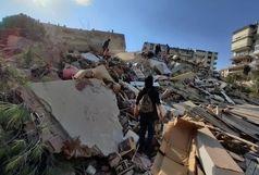 جزئیات زلزله ازمیر ترکیه/ ٢٠ ساختمان فرو ریخت