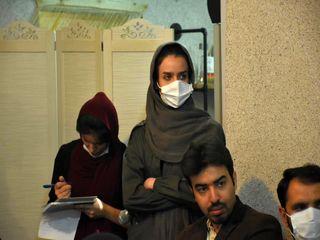 جلسه بررسی فعالیت هیات کاراته استان قم
