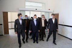 بازدید وزیر ورزش و جوانان از ساختمان اداری اداره کل گمرکات کردستان