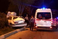 راننده محبوس شده در پژو نجات یافت