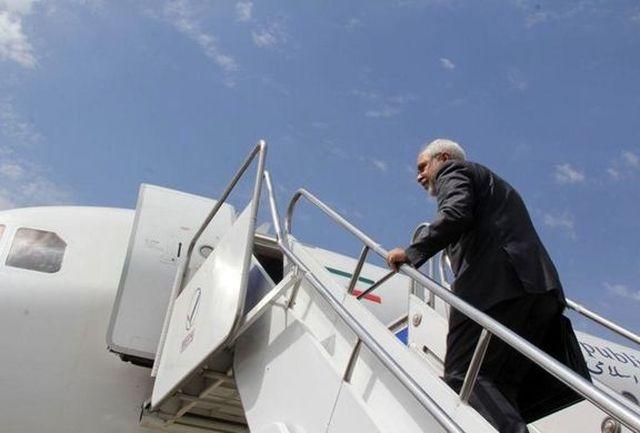 وزیر امور خارجه تهران را به مقصد بغداد ترک کرد