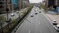 وضعیت ترافیکی معابر بزرگراهی تهران