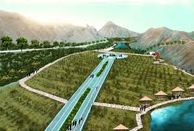اجرای عملیات احداث بوستان خضر در شهر مقدس قم
