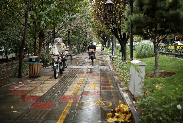 برف و باران مهمان اصفهان میشود