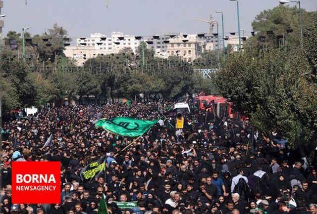 مراسم پیاده روی جاماندگان اربعین حسینی شهر ری