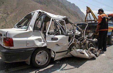 حادثه  اتوبان صفه شش مصدوم برجای گذاشت