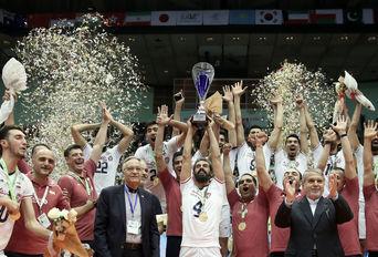 فینال رقابت های والیبال قهرمانی آسیا ۲۰۱۹