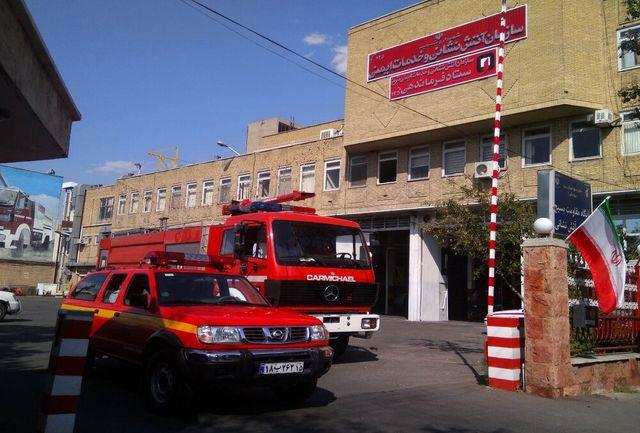آماده باش آتشنشانان تبریز