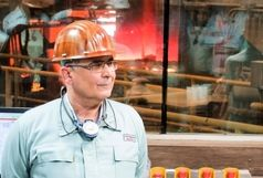 کسب رکورد ماهیانه تولید در فولاد هرمزگان