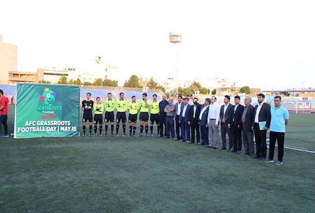 فستیوال مدارس فوتبال منتخب  قم برگزار شد